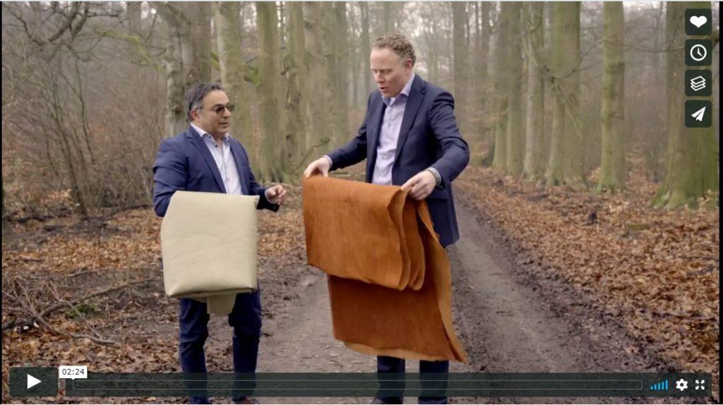 Blij dat ik textielspecialist partner mag zijn van TRIBOO EU, samen gaan we met de stoffen BARKTEX® (boomschors) en PINATEX® (restanten van de ananas teelt) mooie oplossingen creëren voor een duurzame en gezonde werkomgeving